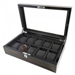 PREMIUM Cutie din lemn pentru 10 ceasuri Nairobi WZ4582