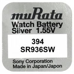 Pachet 10 baterii pentru ceas - Murata SR936SW- 394