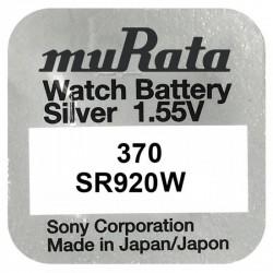 Pachet 10 baterii pentru ceas - Murata SR920W - 370
