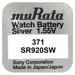 Pachet 10 baterii pentru ceas - Murata SR920SW - 371