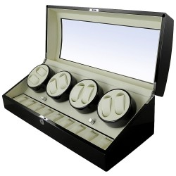 Watch Winder 8 spatii - Black Piano