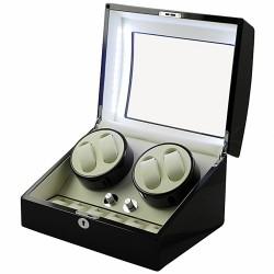Dispozitiv Intors Ceasuri Automatice Watch Winder - 4 + 6 Spatii WW46BW