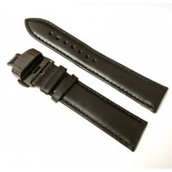 Curea ceas neagra cu deployant negru