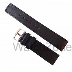 Curea de ceas HANDMADE Neagra 24mm