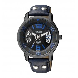 Ceas Barbatesc  Q&Q Coupe Dark Blue
