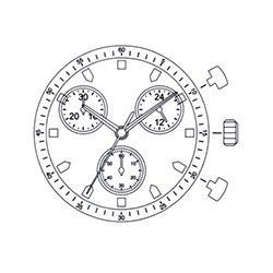 Mecanism Ceas Miyota JS00