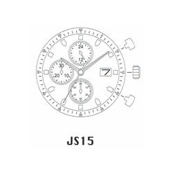 Mecanism Ceas Miyota JS15
