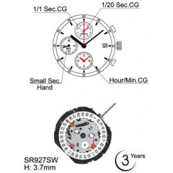 Mecanism Ceas Hattori YM92