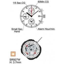 Mecanism Ceas Hattori YM62