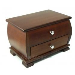Caseta de bijuterii din lemn Hayley