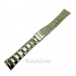 Bratara ceas din otel inoxidabil argintiu 18mm 20mm 22mm 24mm