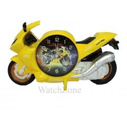 Ceas cu alarma galben MOTO GP PF006B