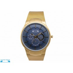 Ceas Barbatesc Matteo Ferari Gold/Blue Elegant II