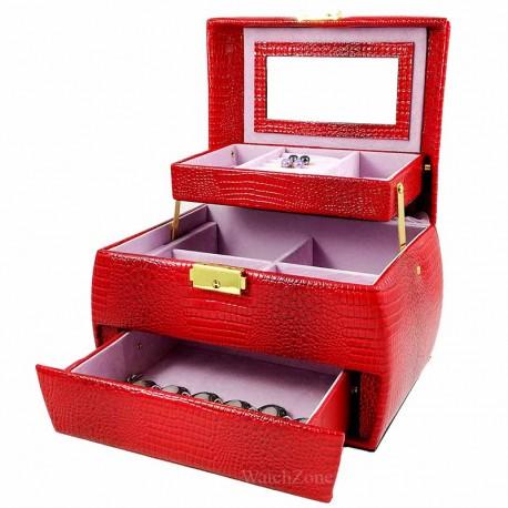 Caseta Pentru Bijuterii Poket Lady Red