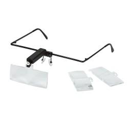 Ochelari cu Lupa si LED pentru Ceasornicari No: 9157-4