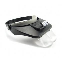 Lupa Frontala cu Lanterna Led Vuemax Pro MG81001-E