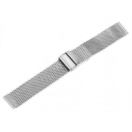 Bratara Ceas Otel Inoxidabil Argintie 18mm - 24mm WZ1988