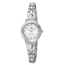 Ceas Dama Elegant Argintiu Q&Q F573J204Y