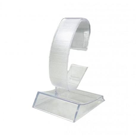 Stativ Prezentare Ceasuri Transparent / Negru din Acril WZ2182