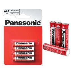 Baterie Panasonic AAA R03 Set 4 Baterii