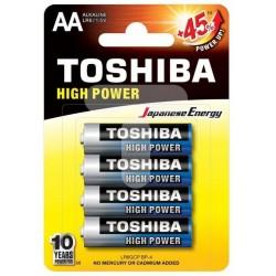 Baterie Alcalina Toshiba AA LR6GCP BP-4 Set 4 Baterii