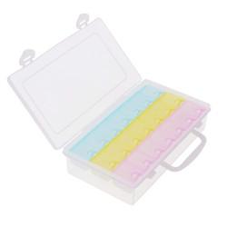 Cutie Plastic Cu Organizator 21 Spații Colorate WZ2376