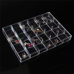 Cutie Material Acrilic Transparent 24 Spații WZ2380
