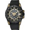 Ceas Bărbătesc Q&Q Attractive Gold & Black DA52J502Y