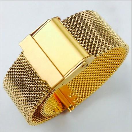 Brațară Universală Pentru Ceas Milaneză Aurie Universală