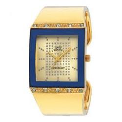 Ceas damă auriu Q&Q GP17-010Y