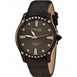 Ceas damă negru Q&Q Attractive DA27J502Y