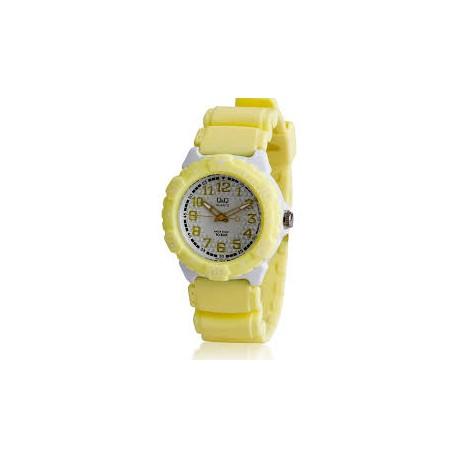 Ceas damă elegant Q&Q galben VQ58J006Y