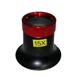Lupă ceasornicar/bijutier 15X