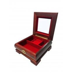 Casetă bijuterii din lemn - elegantă