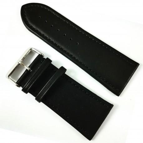 Curea Piele Neagră - 34mm