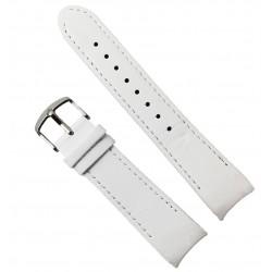 Curea de ceas din piele naturală  D&G - capete curbate 22mm