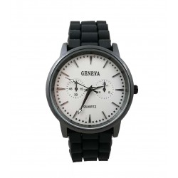Ceas unisex Geneva - Black and White