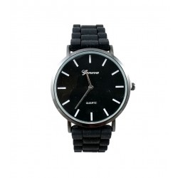 Ceas unisex Geneva - Simple Black