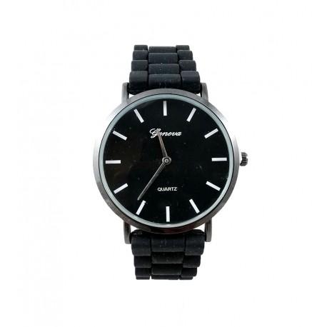 Ceas unisex Geneva - Simple Black