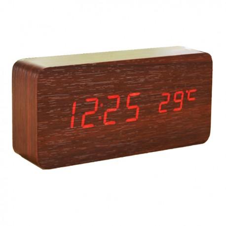 Ceas de masă LED cu alarmă și Termometru
