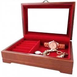 Caseta bijuterii din lemn - Rose