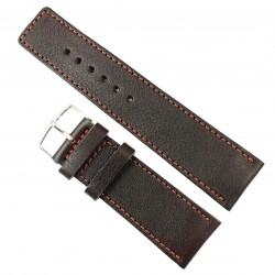 Curea de ceas din piele naturala HandMade Maro - 30mm WZ2920
