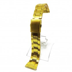 Bratara ceas Aurie, otel inoxidabil - 20mm, 22mm, 24mm
