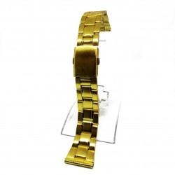 Bratara de ceas Aurie din otel inoxidabil - 18mm, 20mm, 22mm, 24mm - B2931