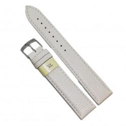 Curea din piele naturala alba Morellato XL - 20mm - C2961
