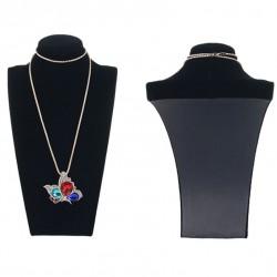 Bust expunere bijuterii - Catifea Neagra - BU2981