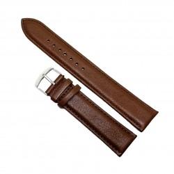 Curea de ceas din piele naturala maro XL - 20mm, 22mm, 24mm - C3000