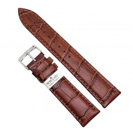 Curea pentru ceas din piele naturala maro Morellato - 18mm, 20mm, 24mm - C3015