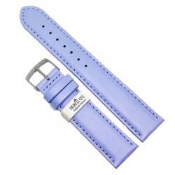 Curea ceas din piele naturala bleu 20mm Morellato
