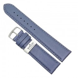 Curea ceas din piele naturala bleu inchis 20mm Morellato